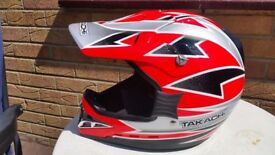 BRAND NEW CRASH HELMET ON/OFF ROAD VERY CHEAP