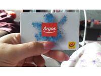 £75 Argos Gift Card
