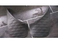 Ford ka front & rear mud flaps