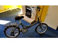 Raleigh EVO 7SP foldable bike