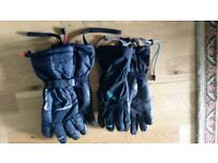 Ladies medium Rab and Montane winter gloves