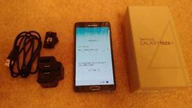 Unlocked Samsung Note 4 - black