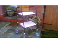 Trolley table . 2 shelves. Superb condition