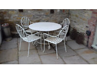 Patio Dining table with 6 chairs