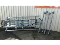 Vw transporter roof ladder rack.