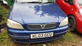 Vauxhall Astra, 2003, blue for sale and breaking for parts