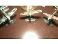 3 die cast model aeroplanes