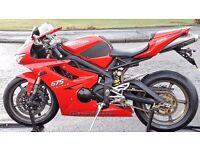 Triumph Super Sport Daytona 675 - Not Kawasaki ZX6r Ninja, Honda CBR600, Suzuki GSXR, Yamaha R1 R6
