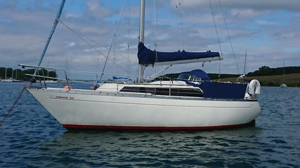 MIRAGE 28 LOVELY SAILING CRUISER, GREAT STARTER BOAT £7500 | in Killinchy,  County Down | Gumtree