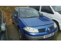 Renault megane 2004 no engine for parts or repair
