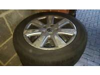 4 x 16 inch VW alloy wheels with tyres