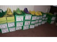 32 Boxes of flossys mainly kids a few adults £70 the lot