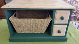 Multi-Purpose Solid Pine Storage Cabinet/Media Unit