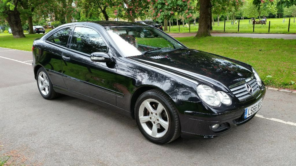 Mercedes c220 cdi se coupe auto diesel 56 plate 2006 one f for Mercedes benz f service