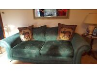 Very good condition fabric sofa