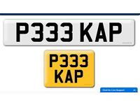 Cheap Pick up plate P333 KAP private cherished personal personalised registration number