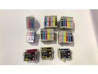 Epson T0801 T0802 T0803 T0804 T0805 T0806 T0807 Hummingbird Inks