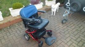 rascal reno compact powerchair/scooter
