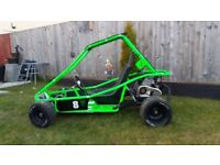 Junior petrol go kart