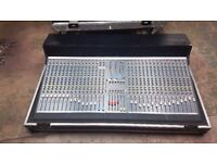 A & H GL2200 32 channel mixer including 5Star touring flight-case