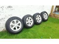Mitsubishi l200 alloy wheels x 4 (reduced)