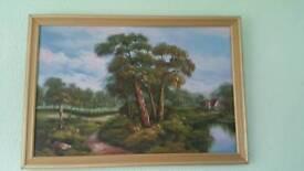 Canvas picture landscape