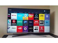 "Samsung 50"" SMART 4K UHD TV -1400hz- HDR - NANO CRYSTAL - Wifi - FREEVIEW/SAT HD - Built-in"