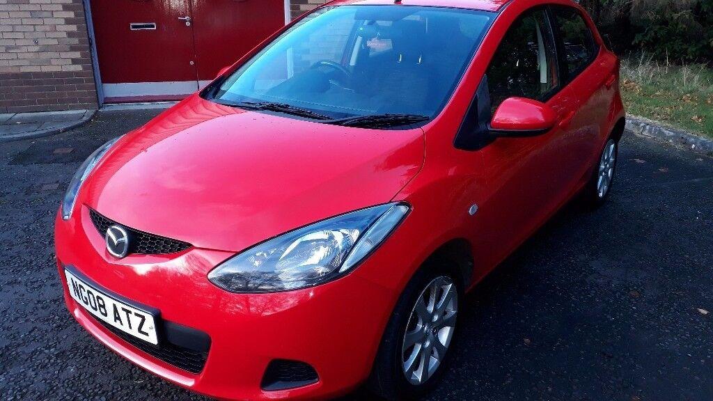 08 Mazda2 TS2 1.4 5door, Red, 1 year Warranty, 1 year full year MOT, service history, lovely car
