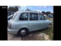 2002 51reg Tx1 London Taxi Automatic January Mot