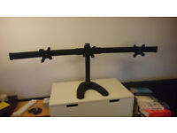 """27"""" Triple monitor stand"""