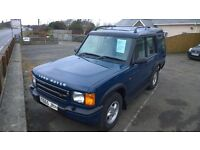 landrover discovery td5 gs,1999 registration, 2.5 turbo diesel , 158,000 miles,