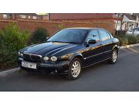 Jaguar X-Type Classic 2.0 D (Diesel) + 2003/53 + Saloon + Black + (NEW SHAPE) +