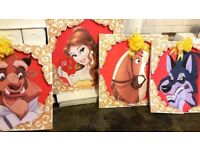 """SALE: HUGE """"Beauty & The Beast"""" Party bundle, ONLY £10 (see photos)"""