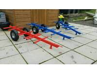 Childs bale trailers