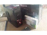The Beast, i7 Quad Core Gaming PC, Brand New NVIDIA GeForce GTX 1050Ti SC Gaming 4GB GDDR5, 600w PSU