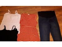 Maternity clothes, size 16