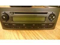FIAT PUNTO GRADE 2006 STEREO HEAD UNIT CD PLAYER RADIO BLAUPUNKT GMBH 7646328316 £20