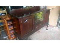 Mahogany sideboard gone.... Tabke only
