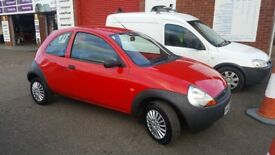 Ford Ka 1.3 Red. Lovely tidy condition. £975