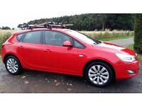 2010 Vauxhall Astra Exclusiv 1.7 cdti manual hatchback
