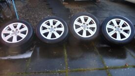 Audi A6 alloy wheels & tyres