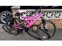 Ladies/Girls Muddy Fox Mountain Bike