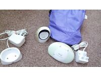 BT Digital Baby Monitor & Pacifier Night Light,Talk Back With Travel Case & Box