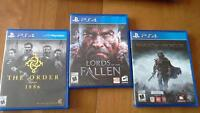 PS4 games for sale in Kentville