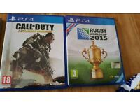 Two ps4 games great condition £8 for the 2
