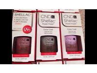 CND Shellac £12 each collection Rodley or Calverley