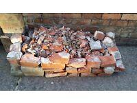 FREE Mixed rubble - red bricks and breeze blocks