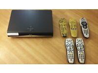 Sky + HD box & 5 Controllers