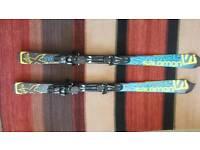 Junior Salomon X race ski's