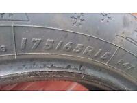 Dunlop winter response tyres